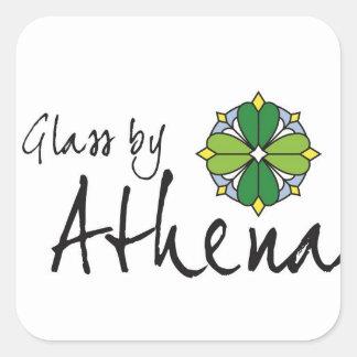 Glass by Athena Logo Stickers