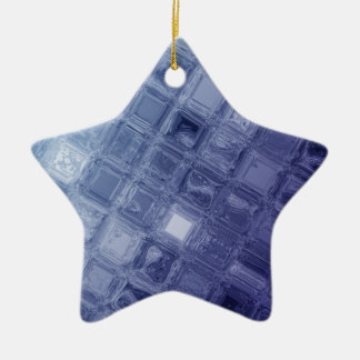 Glass Ceramic Star Ornament