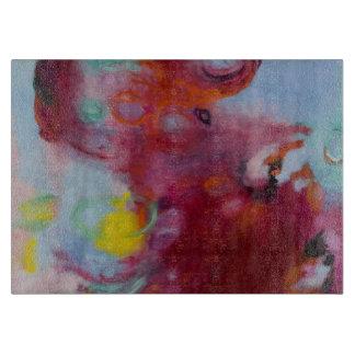 glass cutting board 8x11 original art