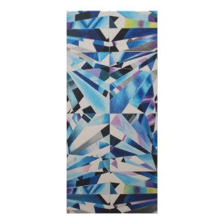 """Glass Diamond 4"""" x 9"""" Rackcard Rack Card"""