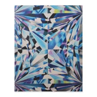 """Glass Diamond 8.5"""" x 11"""" Flyer"""