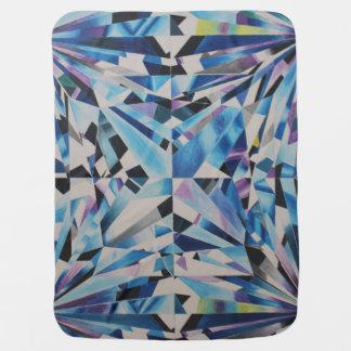 Glass Diamond Baby Blanket