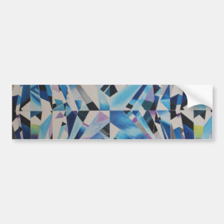 Glass Diamond Bumper Sticker