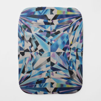 Glass Diamond Burp Cloth