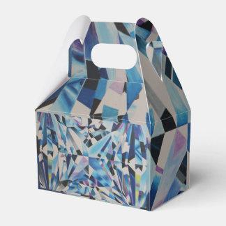 Glass Diamond Gable Favor Box