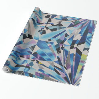 "Glass Diamond Glossy Wrapping Paper, 30"" x 15' Wrapping Paper"