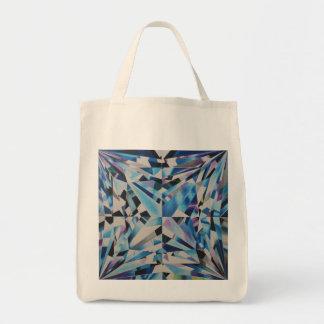 Glass Diamond Grocery Tote