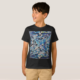Glass Diamond Kids' Hanes TAGLESS® T-Shirt