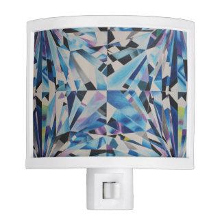 Glass Diamond Night Light