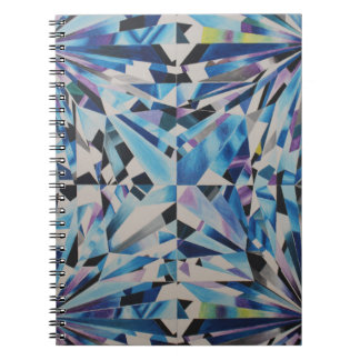 Glass Diamond Photo Notebook (80 Pages B&W)