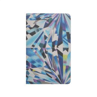 Glass Diamond Pocket Journal