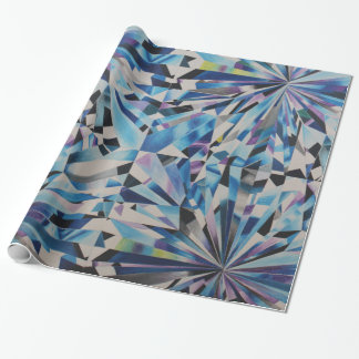 Glass Diamond wrapping paper