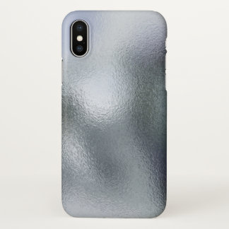 Glass Distort (11 of 12) (White) iPhone X Case