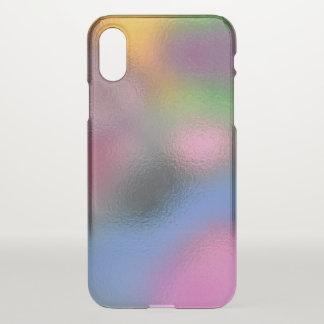 Glass Distort (3 of 12) iPhone X Case
