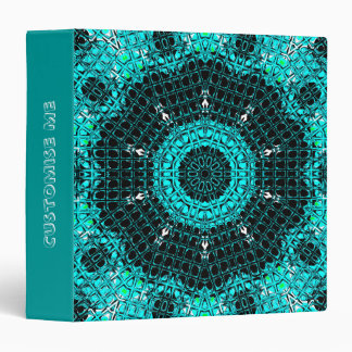 Glass Effect Mosaic Aquamarine Binder