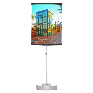 Glass Elevator Photography Table Lamp