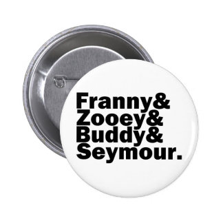 Glass Family 2 Inch Round Button