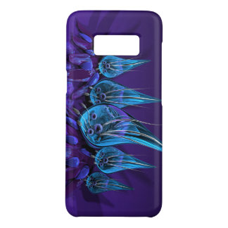 glass flowers blue Case-Mate samsung galaxy s8 case