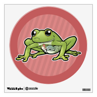 Glass Frog Wall Decal