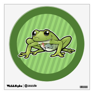 Glass Frog Wall Sticker