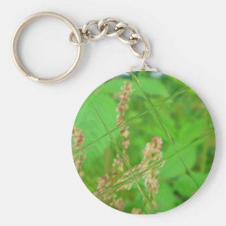 Glass Garden Keychain