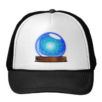 Glass Globe Smow Storm Trucker Hat