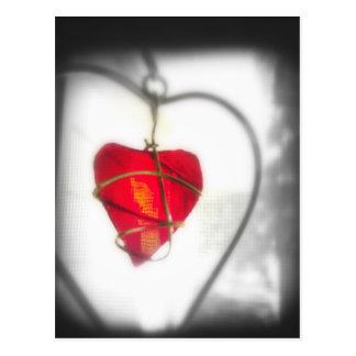 Glass Heart Postcard