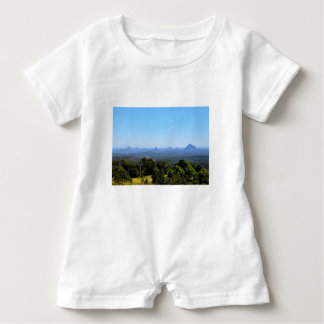 GLASS HOUSE MOUNTAINS QUEENSLAND AUSTRALIA BABY ROMPER