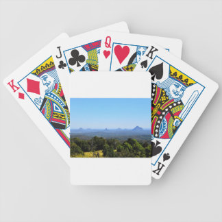 GLASS HOUSE MOUNTAINS QUEENSLAND AUSTRALIA BICYCLE PLAYING CARDS