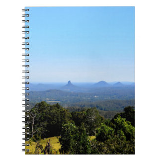 GLASS HOUSE MOUNTAINS QUEENSLAND AUSTRALIA NOTEBOOKS