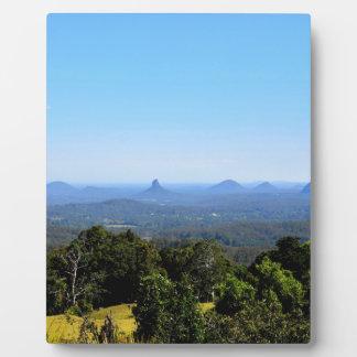GLASS HOUSE MOUNTAINS QUEENSLAND AUSTRALIA PLAQUE