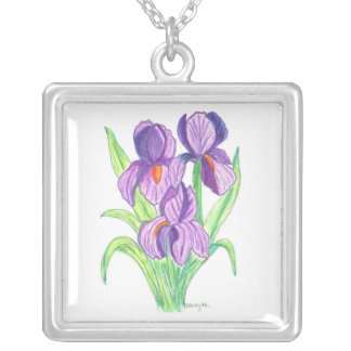 Glass Image of Iris Necklace