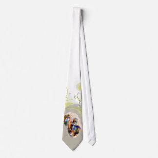 Glass Koi Art Elegant Fashion Japan Fantasy Tie