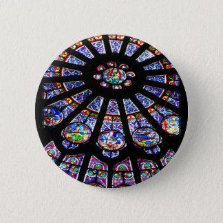 Glass Light 2 Inch Round Button