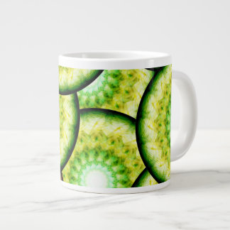 Glass Limes Large Coffee Mug
