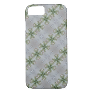 Glass Look Shamrock Four Leaf Clover Good Luck iPhone 8/7 Case
