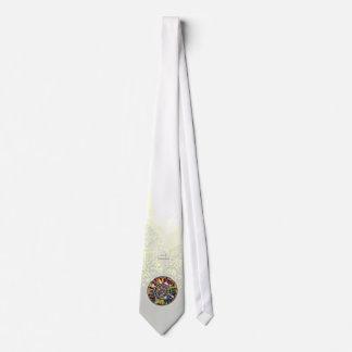 Glass Mandala Formal Fashion Dress Tie