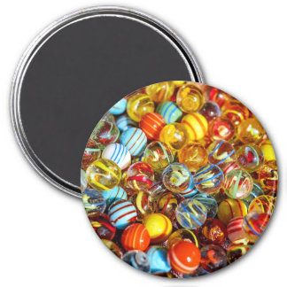 Glass Marbles  Magnet