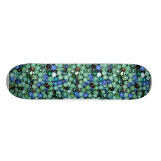 Glass Marbles Skateboard