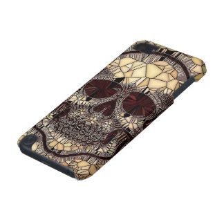 Glass Mosaic Skull,beige iPod Touch 5G Cover