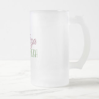 Glass mug fosco - Beauty Rhymes With Nature