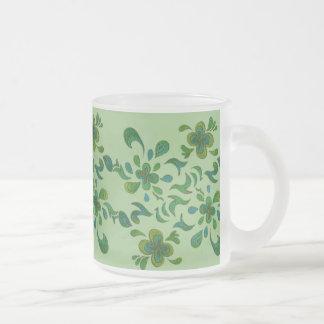 Glass Mug - Green 01