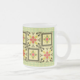 Glass Mug - Green 04