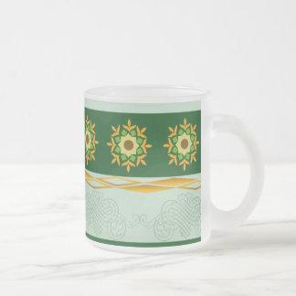 Glass Mug - Green 05
