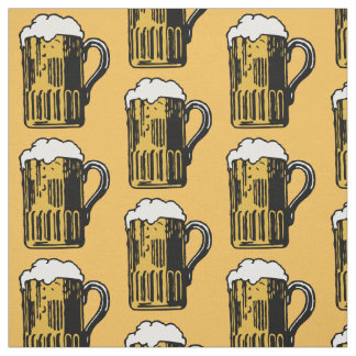 Glass of Beer custom color fabric