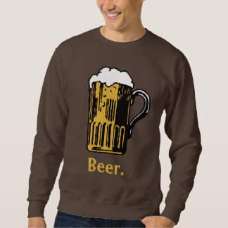 Glass of Beer custom text shirts & jackets