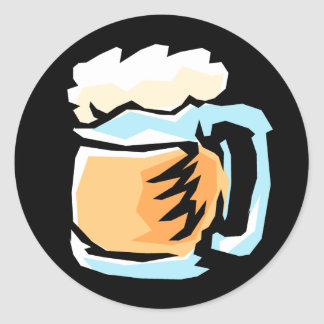 Glass of Beer Stickers