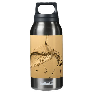 Glass of Champagne Insulated Water Bottle