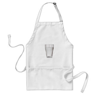 Glass of cold water standard apron