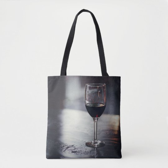 Glass of Red Tote Bag